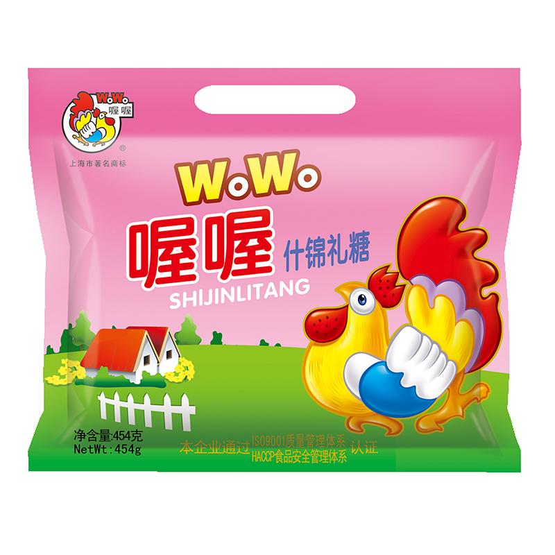 ~天貓超市~喔喔什錦禮糖奶糖454g軟糖喜糖硬糖糖果 美味零食