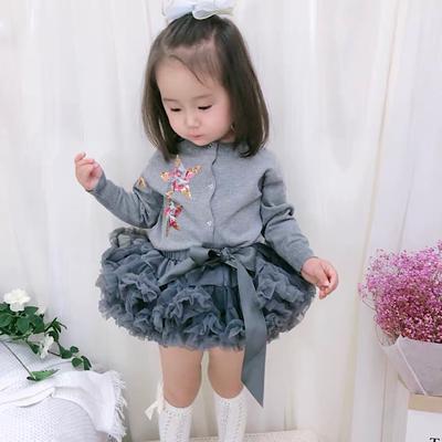 ins tutu女童蓬蓬裙周岁礼服半身裙
