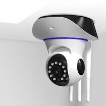 無線360度全景攝像頭手機wifi網絡遠程室外家用高清夜視監控器