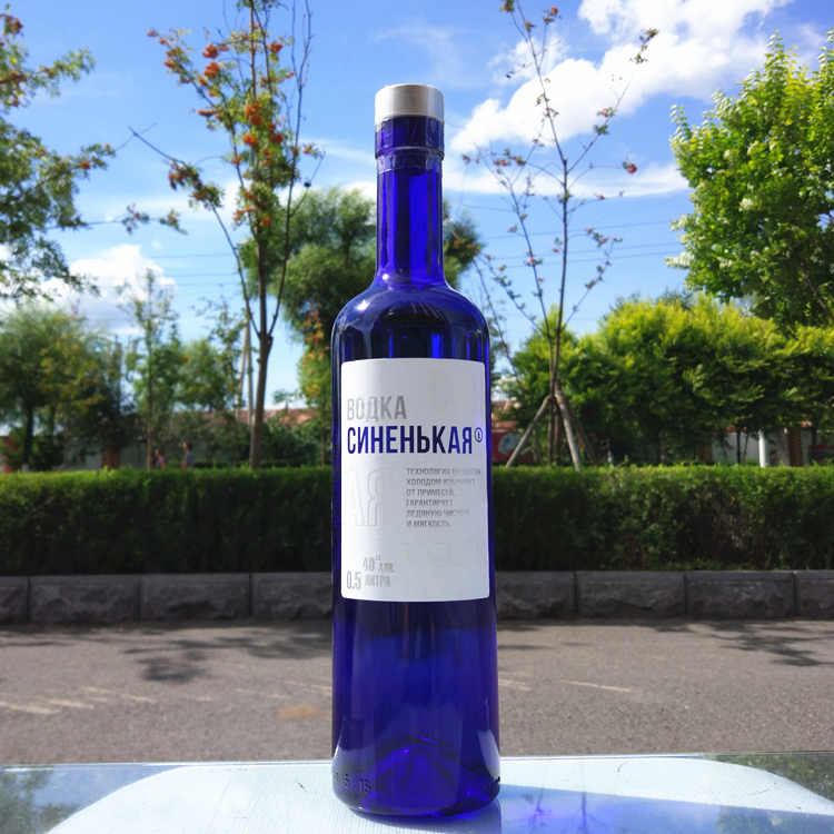 The import of Russian Vodka br blue blue wine liquor cocktail bar for 12zp-5b