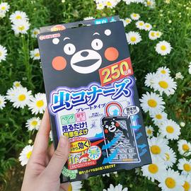 日本进口金鸟驱蚊网挂件防蚊网驱蚊灭蚊神器室内青荷熊本熊250日