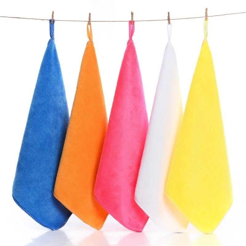 家政保洁毛巾专用家务玻璃抹布清洁不掉毛加厚厨房擦地吸水擦桌布