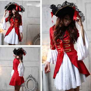Special Halloween Costume Pirate Costume Witch Costume cosplay costume nightclub stage costume party DS performance Costume