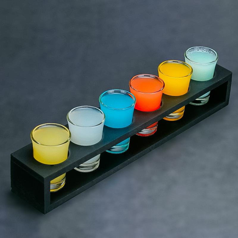 酒吧传奇 子弹杯shot杯 烈酒杯 白酒杯 一口杯 B52鸡尾酒杯