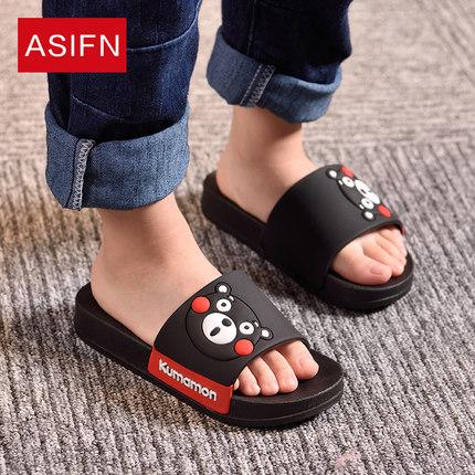 儿童拖鞋男童夏天亲子卡通室内防滑可爱家居小孩托鞋女宝宝凉拖鞋
