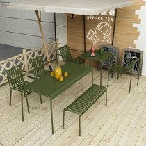 阳台桌椅藤椅三件套户外庭院休闲藤条椅子藤编小茶几靠背腾椅组合