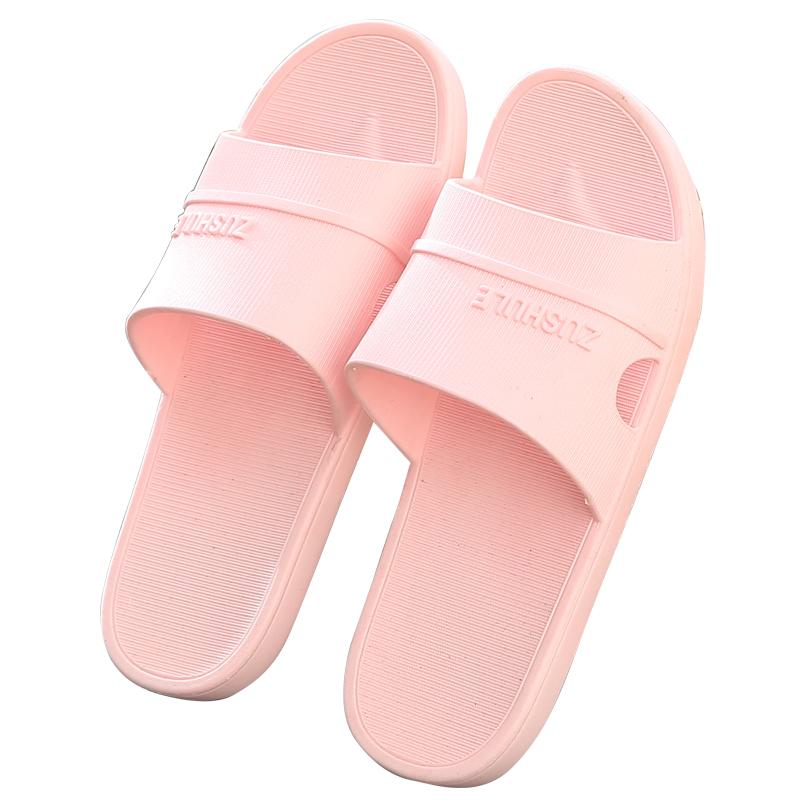 夏天洗澡拖鞋女家用夏浴室防滑情侣托鞋男室内居家女士软底凉拖鞋