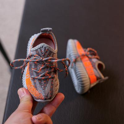 1-2-3-6岁半男女宝宝鞋子春秋季透气网鞋男童软底单鞋儿童运动鞋5