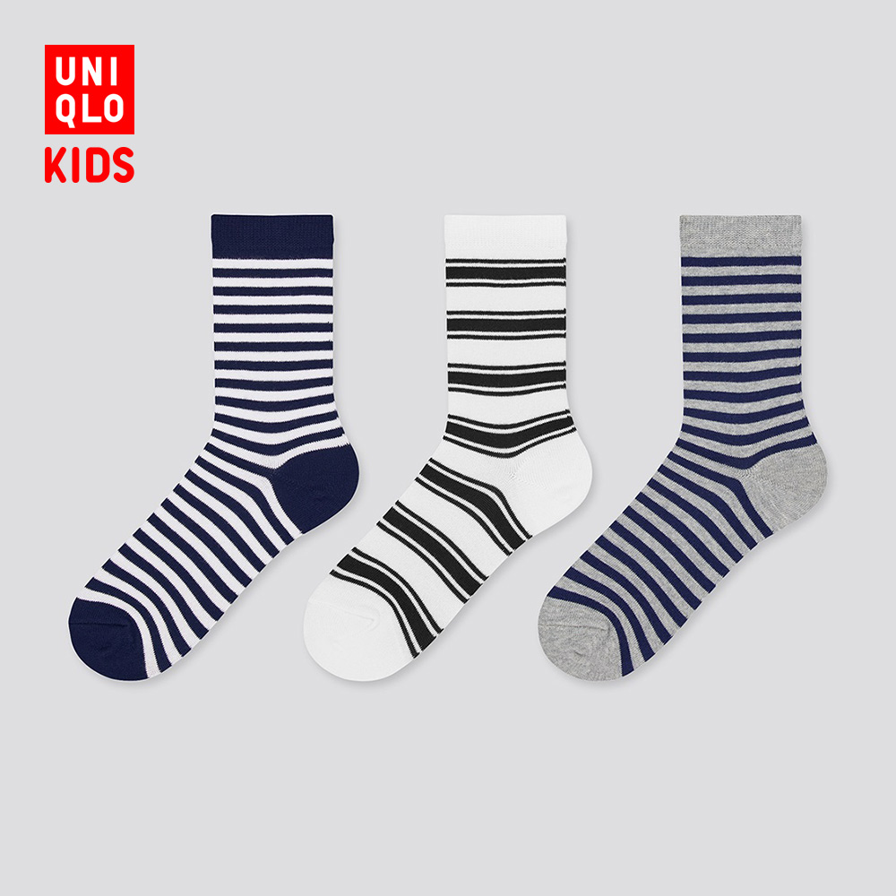 Uniqi children's clothing / boys / girls socks spring and summer (3 pairs) 434559 Uniqlo