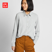 Women's Flannel Shirts (Long Sleeves) 421933 Uniqlo