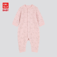 Baby / newborn one piece (long sleeve) 419819 UNIQLO