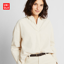 Women's corduroy half-necked jacket (long sleeves) 420563 Uniqlo