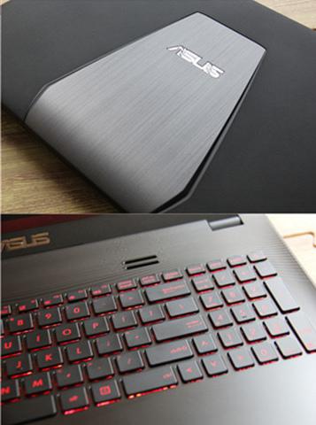 二手华硕笔记本电脑 15寸 i5 8G内存GTX950M 2G独显高分屏