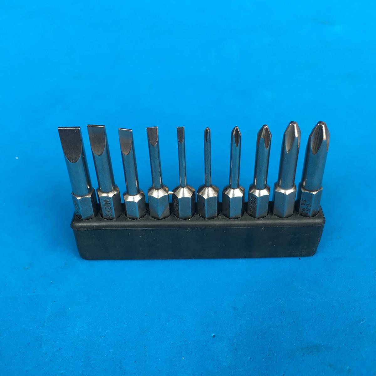 德国强磁性DSL10支装一字/十字批头 螺丝刀头