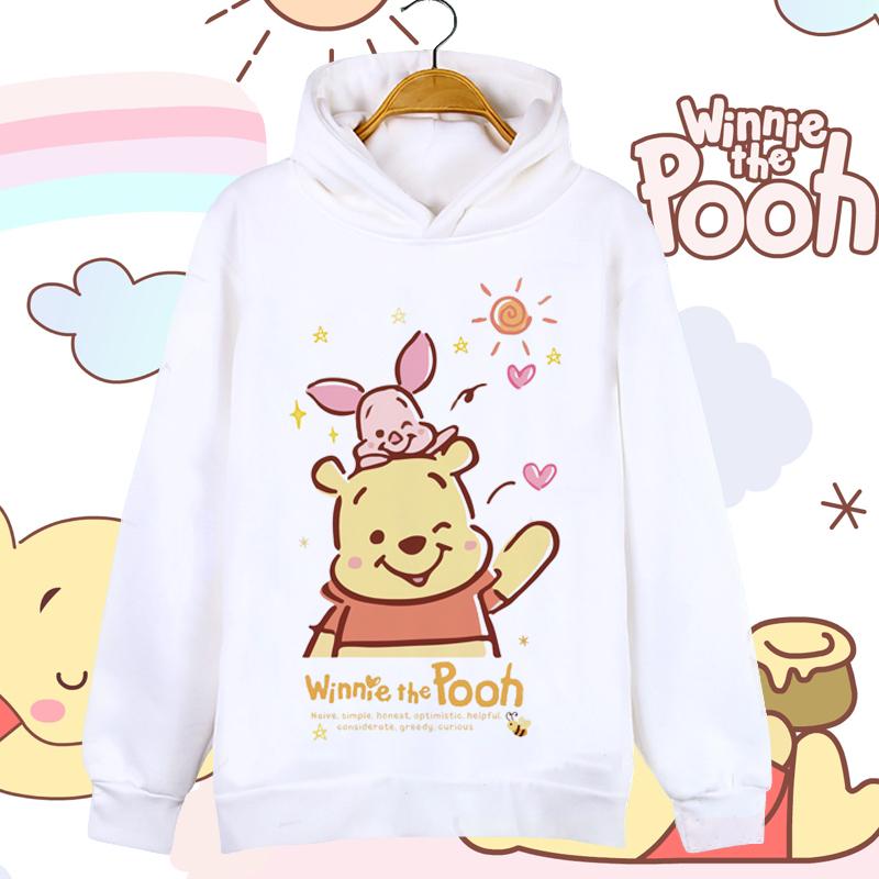 小熊维尼熊pooh韩版可爱男女卫衣