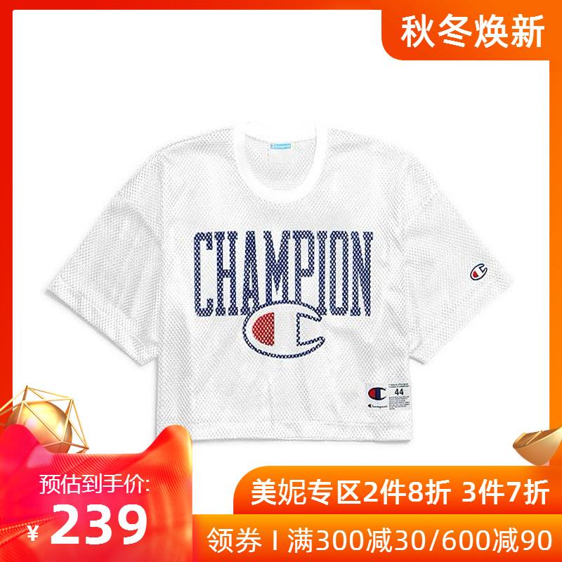 champion2019春夏新款美版网眼t恤239.00元包邮