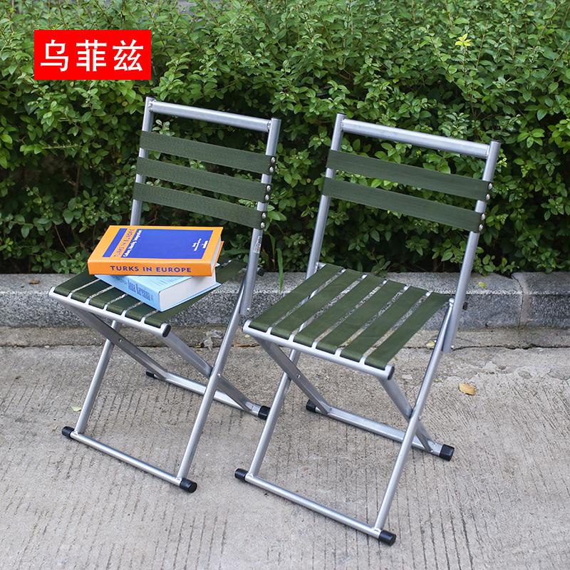 靠背户外家用便携小板凳钓鱼折叠椅满47.80元可用23.9元优惠券