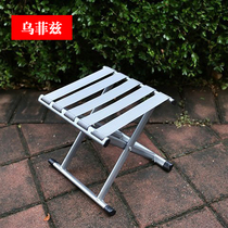 Folding Chair Folding Stool Little Mazza Folding portable outdoor fishing chair small bench Home small stool