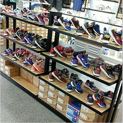 商场鞋架货架 鞋店鞋架展示架 中岛鞋柜包包架童鞋鞋子展示架货架图片