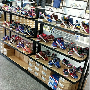 商场鞋架货架 鞋店鞋架展示架 中岛鞋柜包包架童鞋鞋子展示架货架