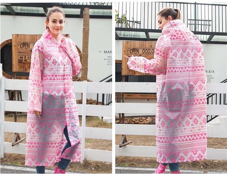 adima雨衣长款全身防暴雨轻便耐磨透气徒步雨披EVA雨衣便携式雨衣