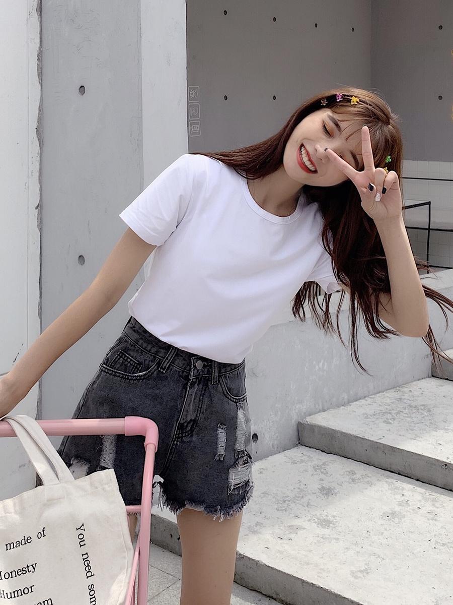 限7000张券夏季女装2019新款韩版复古小众t恤