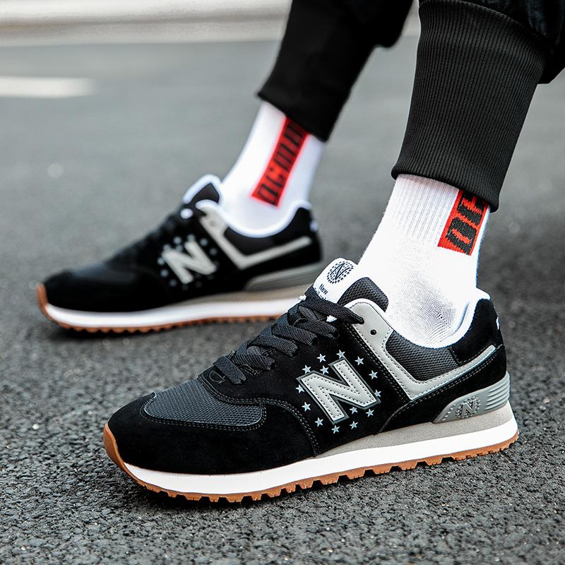 新百伦鞋女运动鞋男夏季透气网面休闲鞋2020年春季新款领跑跑步鞋图片