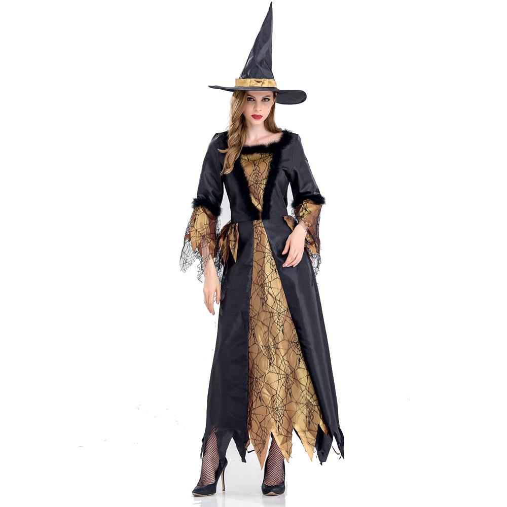 万圣节性感公主长袍 cosplay角色扮演女巫服装Sexy Halloween制服