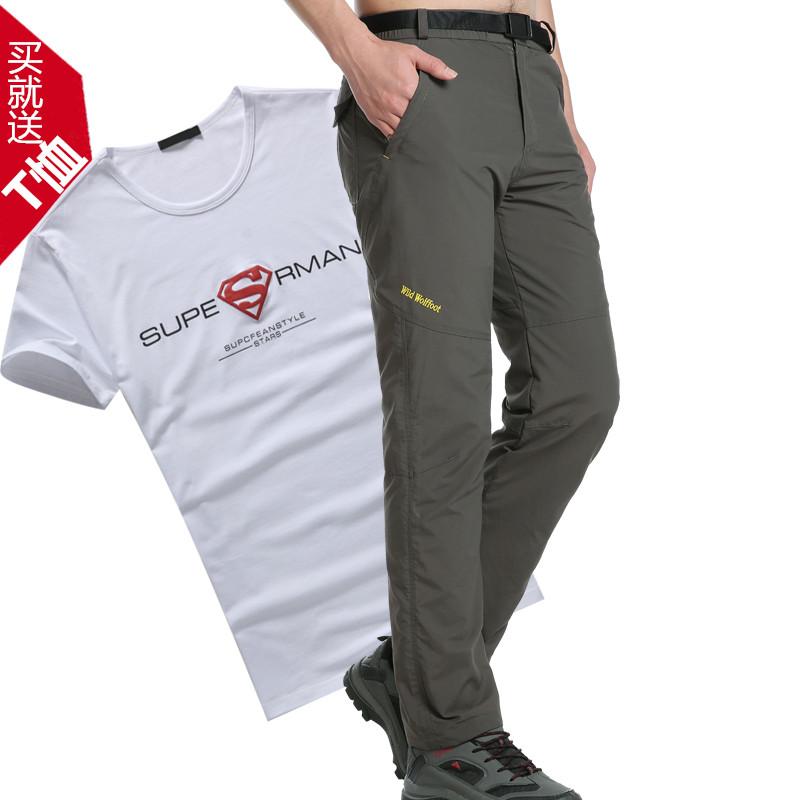 Gore-Tex открытый мужчин Быстросохнущий штаны спорта мягкая оболочка Брюки Весна/лето тонкой водонепроницаемый дышащий горные брюки брюки размер всплеск