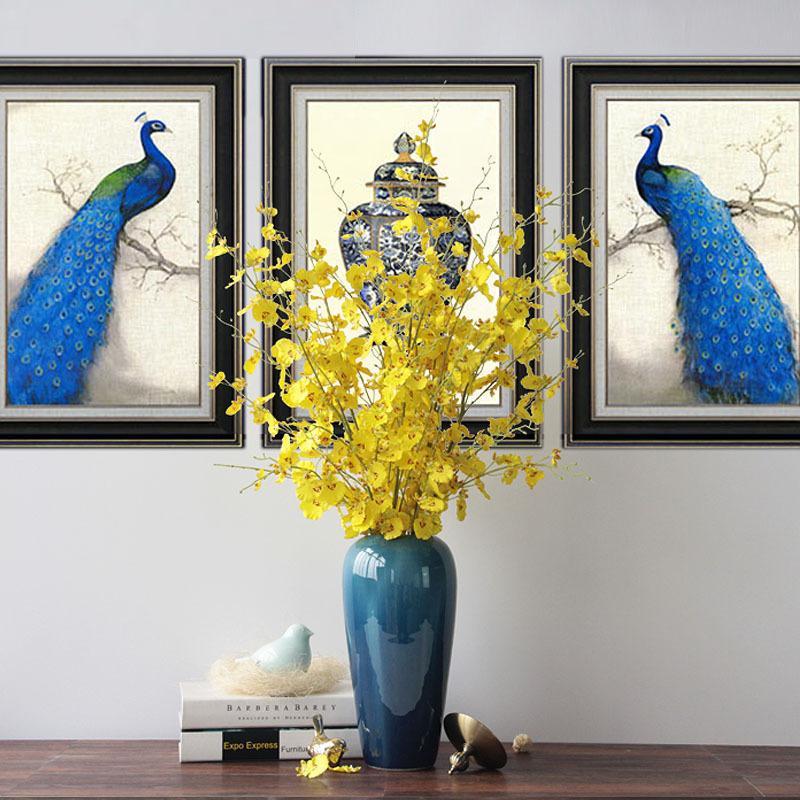欧式新古典后现代新中式客厅陶瓷摆件花瓶家居装饰品结婚礼物特价