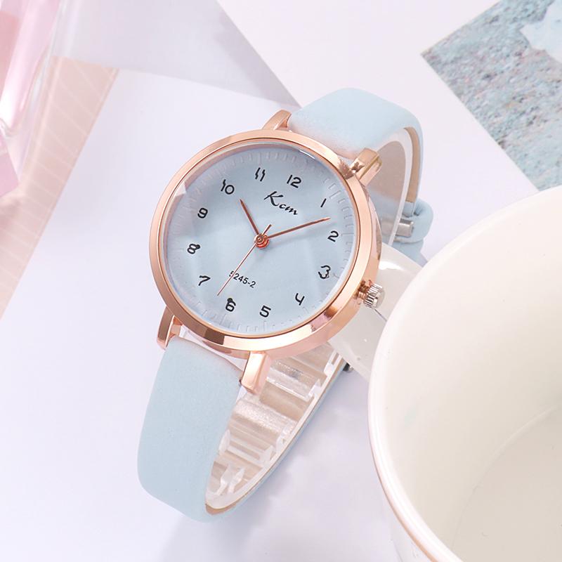 学生の時計の女子児童の韓版の新型の子供の腕時計の女の子の試験の電子防水のファッションの潮流は簡単です。