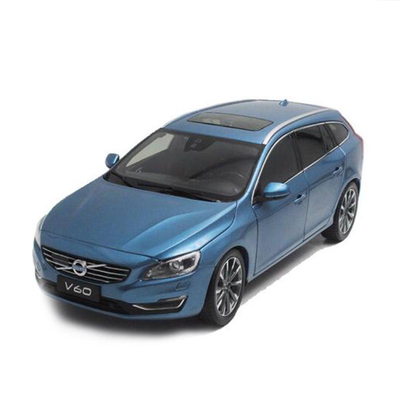 原厂 1:18 沃尔沃v60 volvo v60 旅行车 新品 仿真合金汽车模型