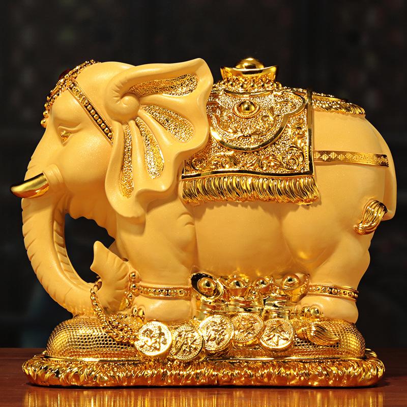 创意大号大象存钱罐大人用家用儿童储蓄罐只进不出超大容量不可取