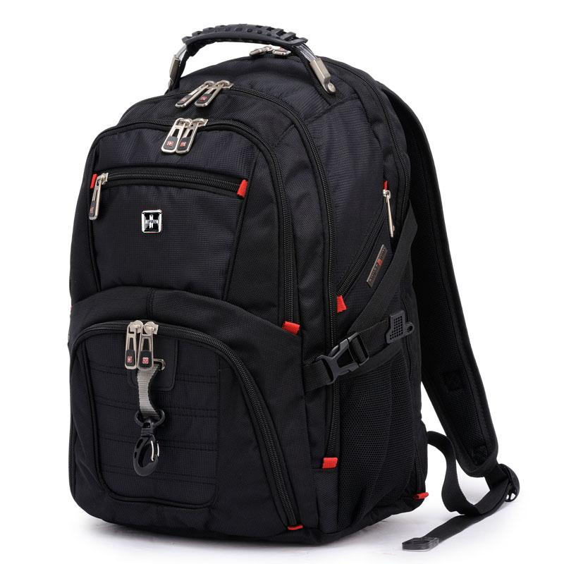 Swiss Sergeant knife backpack mens large capacity travel computer backpack 2021 new junior high school student schoolbag