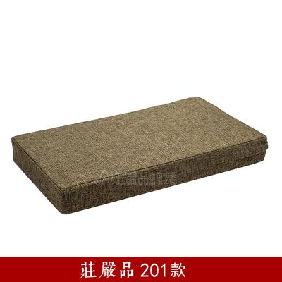 打坐垫 禅修垫 加厚亚麻棕椰丝方形坐垫 蒲团 拜垫 拜佛垫跪垫 Изображение 1