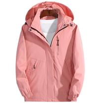 户外男女士装春秋季冲锋衣登山运动外套衣服潮薄款