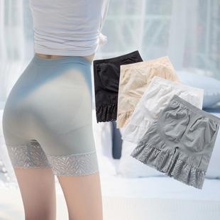 女夏外穿打底裤 大码 防走光安全裤 薄款 女夏 3条装 胖mm高腰收腹短裤