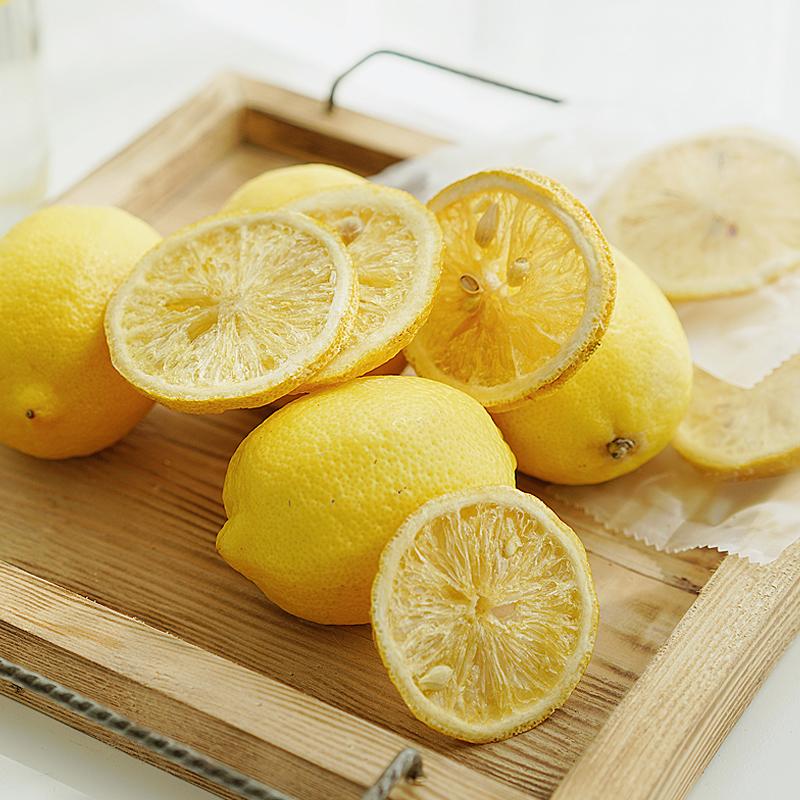 夏午三点 蜂蜜冻干柠檬片 即食柠檬泡水水果茶花草茶独立包装50g