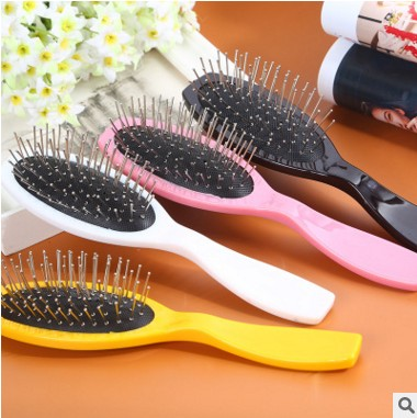 Factory direct sale wig steel comb wig comb anti-static steel comb wig accessories 8582 steel tooth comb