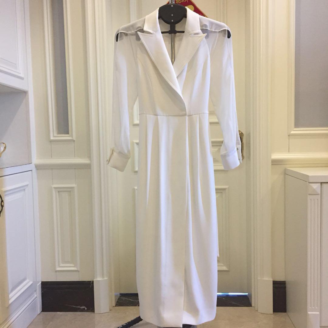 【炫研】明星同款时尚大牌气质连衣裙18091
