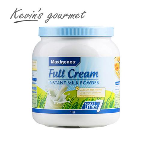 包邮 Maxigenes 澳洲美可卓蓝胖子全脂奶粉1kg成人奶粉 正品行货