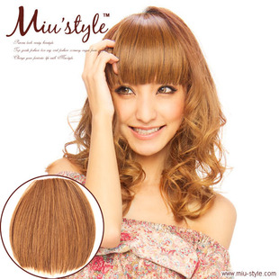Japanese Point Wig Miustyle monochrome version Qi Liu hair before blowing 180 degrees can be hot FX01