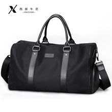 Baggage for Men on Business Large-capacity Short-distance Travel Bag Sports Bag Fitness Bag Single Shoulder Slant Bag