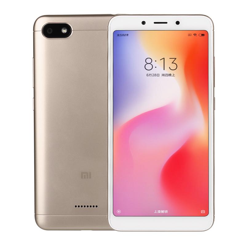 Xiaomi/小米 红米6全网通4G全面屏手机学生老人智能机指纹 6A升级