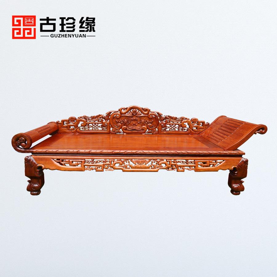 Мьянма палисандр королевский стул один небольшой квартира китайский стиль красное дерево дерево красота диван большой фиолетовые фрукты сандаловое дерево спальня античный