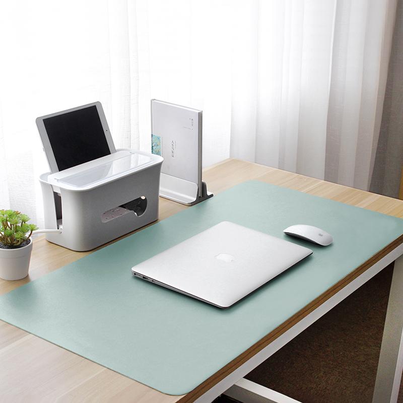 防水超大号鼠标垫笔记本电脑垫桌垫写字台垫键盘垫办公桌垫可定制防水学生桌面皮革垫子公司年会礼品礼物定制