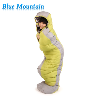Fold adult outdoor winter camping sleeping bag lunch thicker cotton sleeping bag on warm season discount 2 6KG