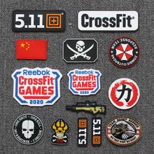 CrossFit Games2020战术贴章511魔术贴户外中国军迷士气个性背包