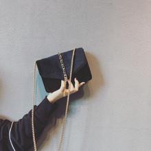 高级感法国小众包包女2020新款潮ins洋气网红丝绒流苏斜挎链条包