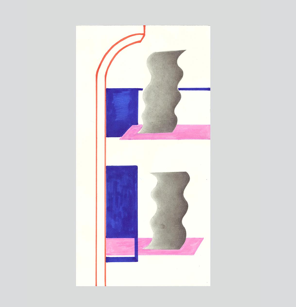 "Маркиз облако | бумага на комплекс живопись ""Q & усилителя, A 69"""